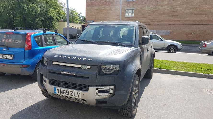 Land Rover Defender нового поколения в Москве
