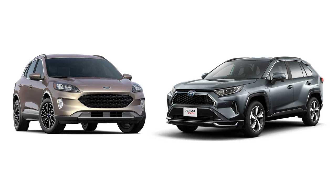 Ford Escape PHEV and Toyota RAV4 Prime