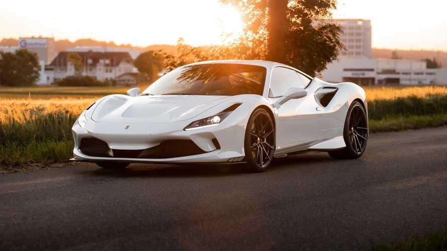 Novitec lleva el motor V8 del Ferrari F8 Tributo hasta los 787 CV