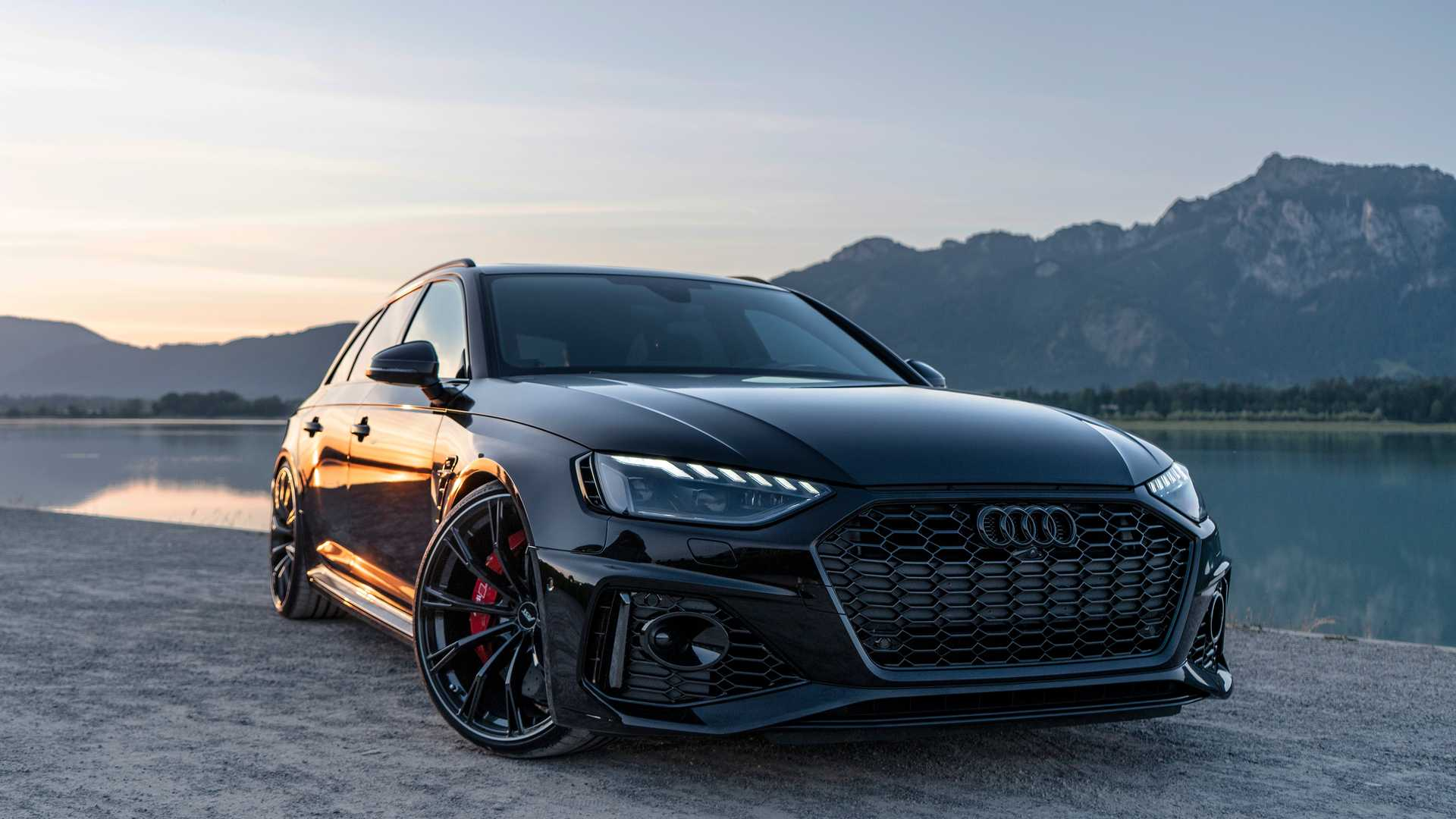 2020 Audi RS4 Avant Tuned By ABT Is Pure Evil With All ...