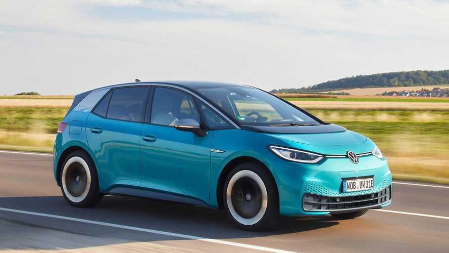 VW ID.3 im Oktober 2020 Europas meistverkauftes Elektroauto