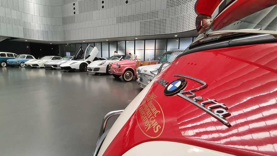 Garage shock, le auto dell'evasore diventano una mostra al MAUTO
