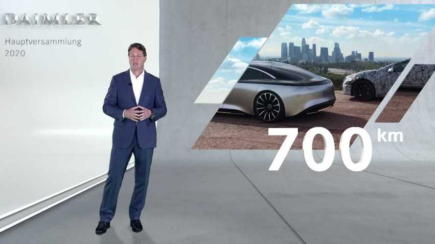 Электрический аналог Mercedes-Benz S-класса проедет 700 км