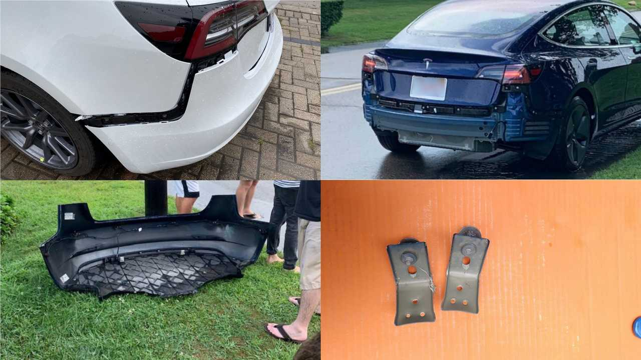 Tesla Model 3 Rear Bumper Issue: Check The Stories Of Other Affected Customers
