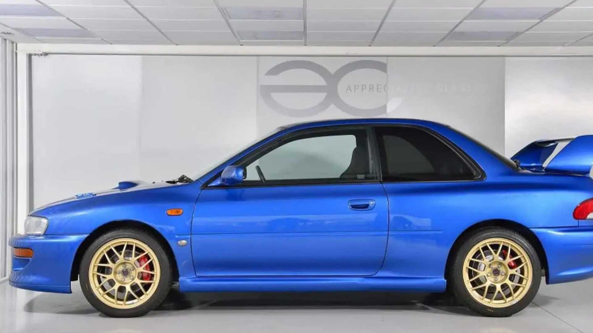 Dieser Makellose Subaru Impreza 22b Sti 1998 Ist Ein Jdm Goldstück