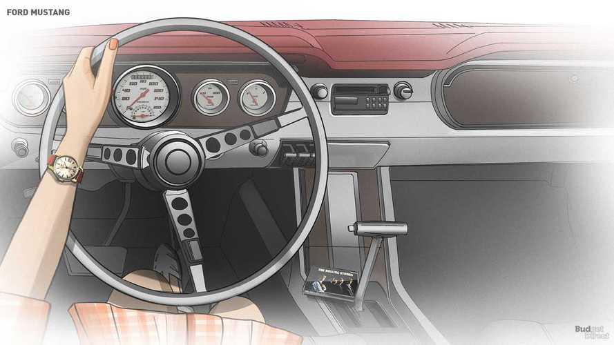 Эволюция интерьера Ford Mustang (1964 - 2019)