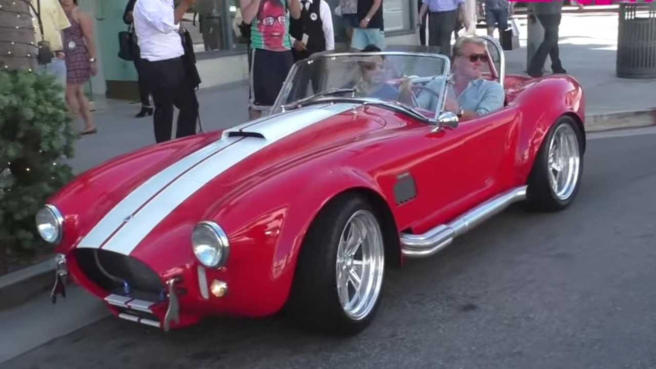 Dolph Lundgren Bought A Shelby Cobra MKIII