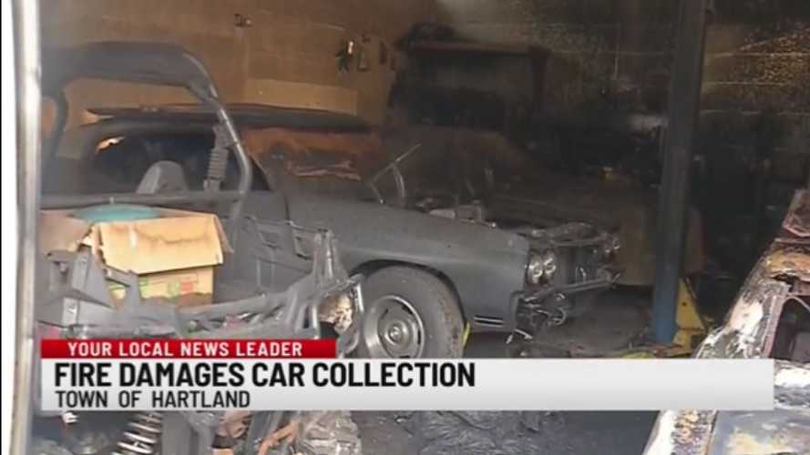 Fire Destroys Classic Car, Minibike Collection In NY