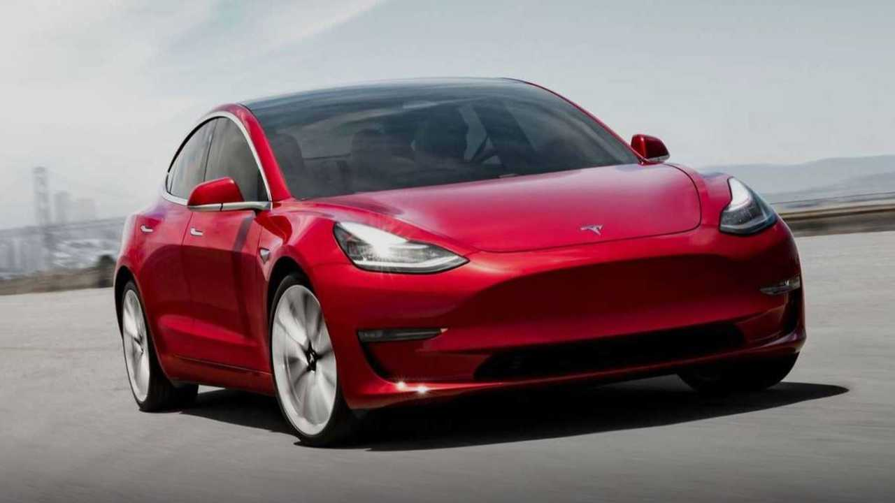 3. Tesla Model 3 Long Range
