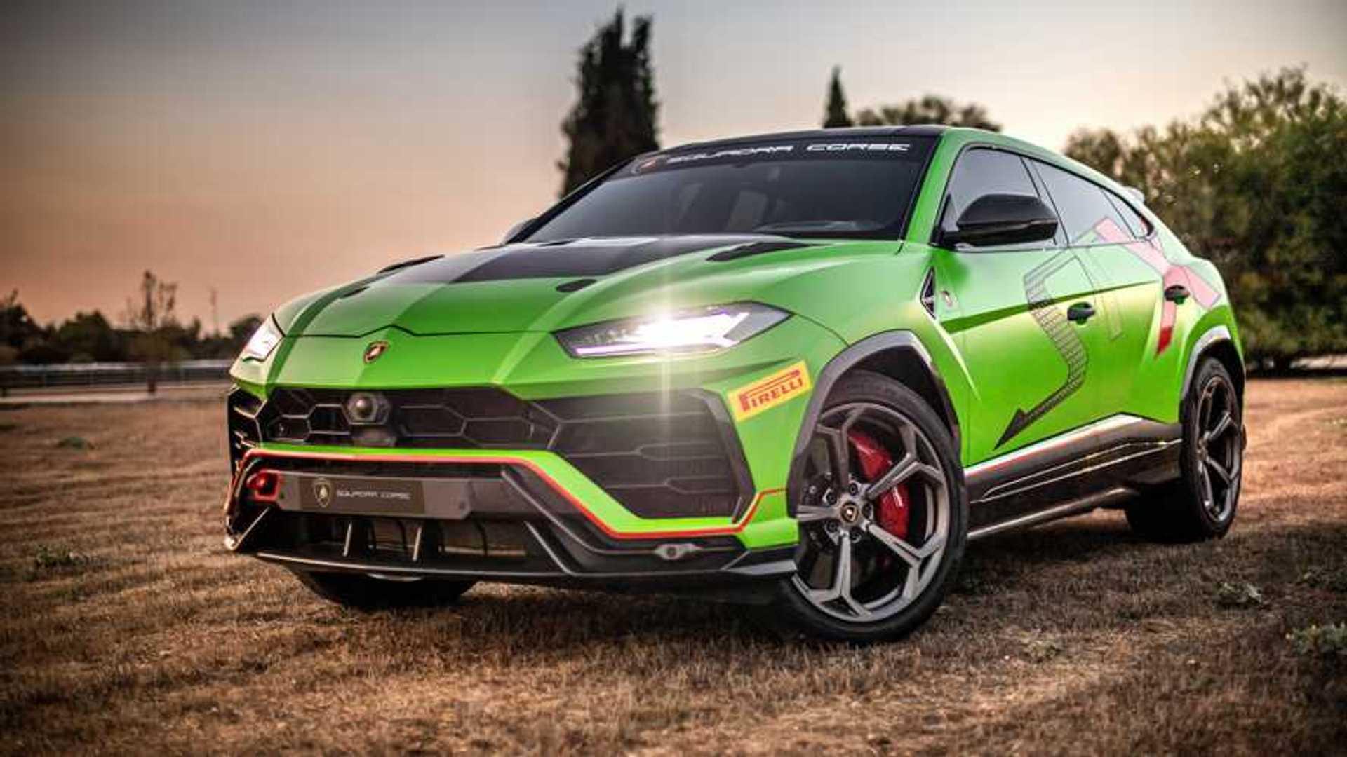 2020 Lamborghini Urus Picture