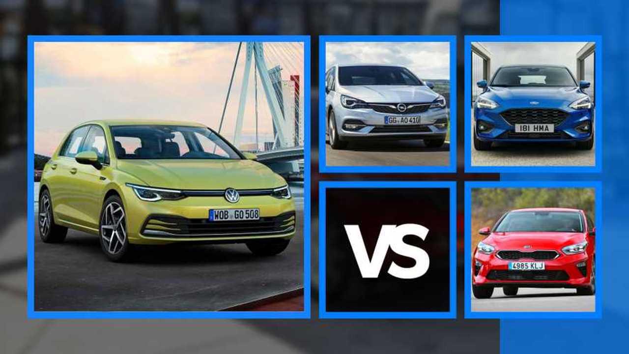 Volkswagen Golf 2020, rivales