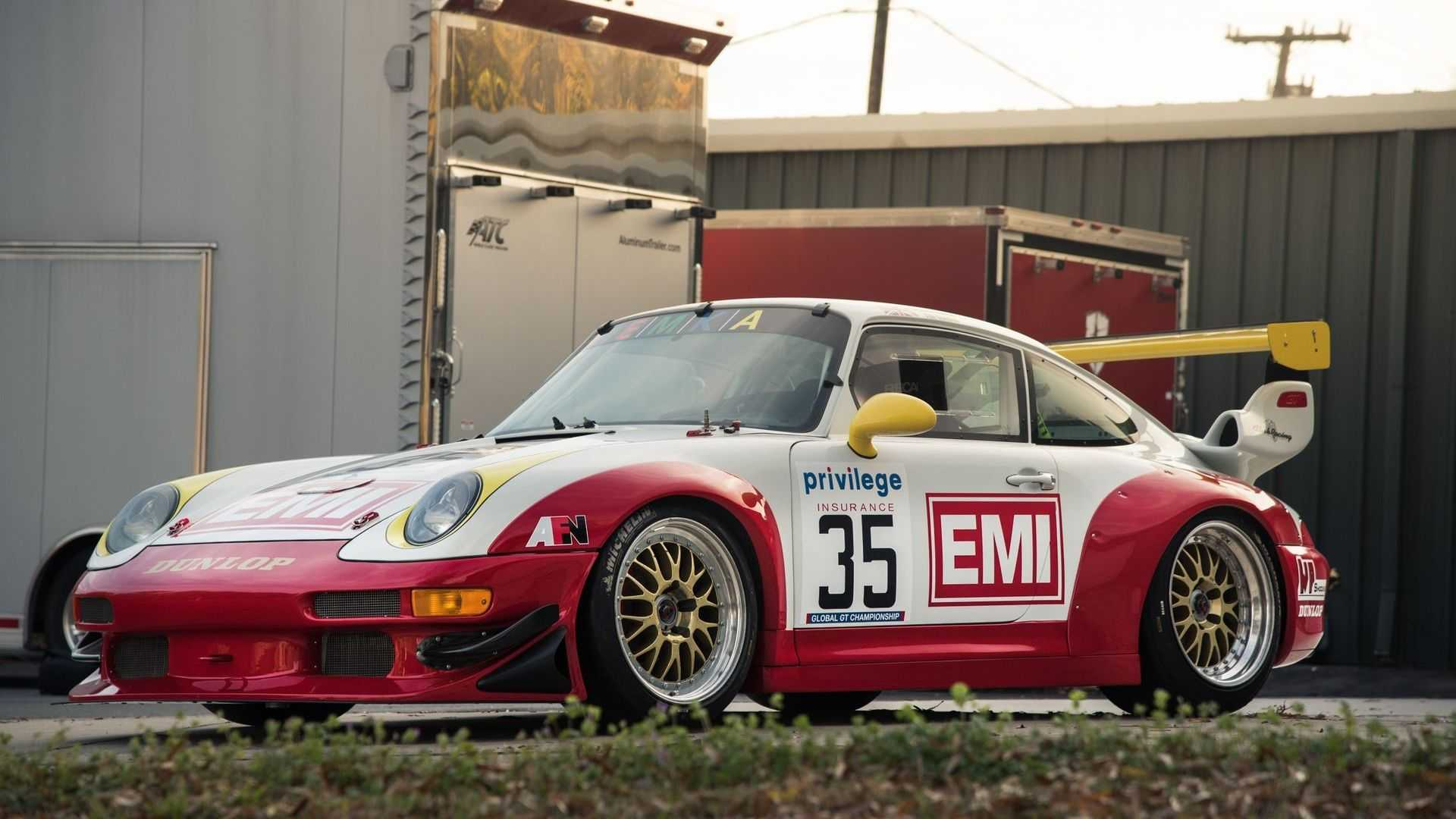 "[""Hit The Track In A 1996 Porsche GT2 R""]"