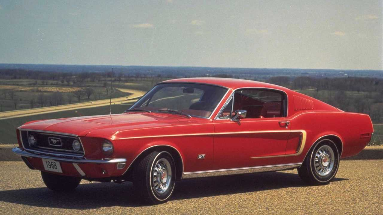 Ford Mustang sportroof 1968