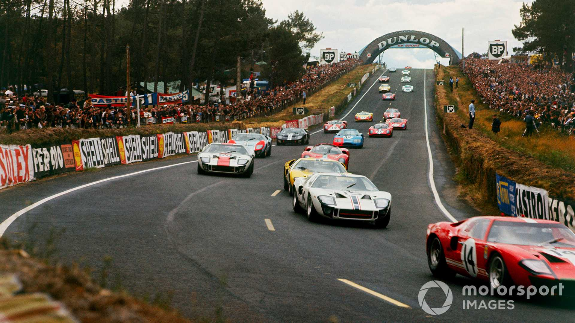Uncovered Lost Footage From The 1966 Le Mans Ford V Ferrari Duel