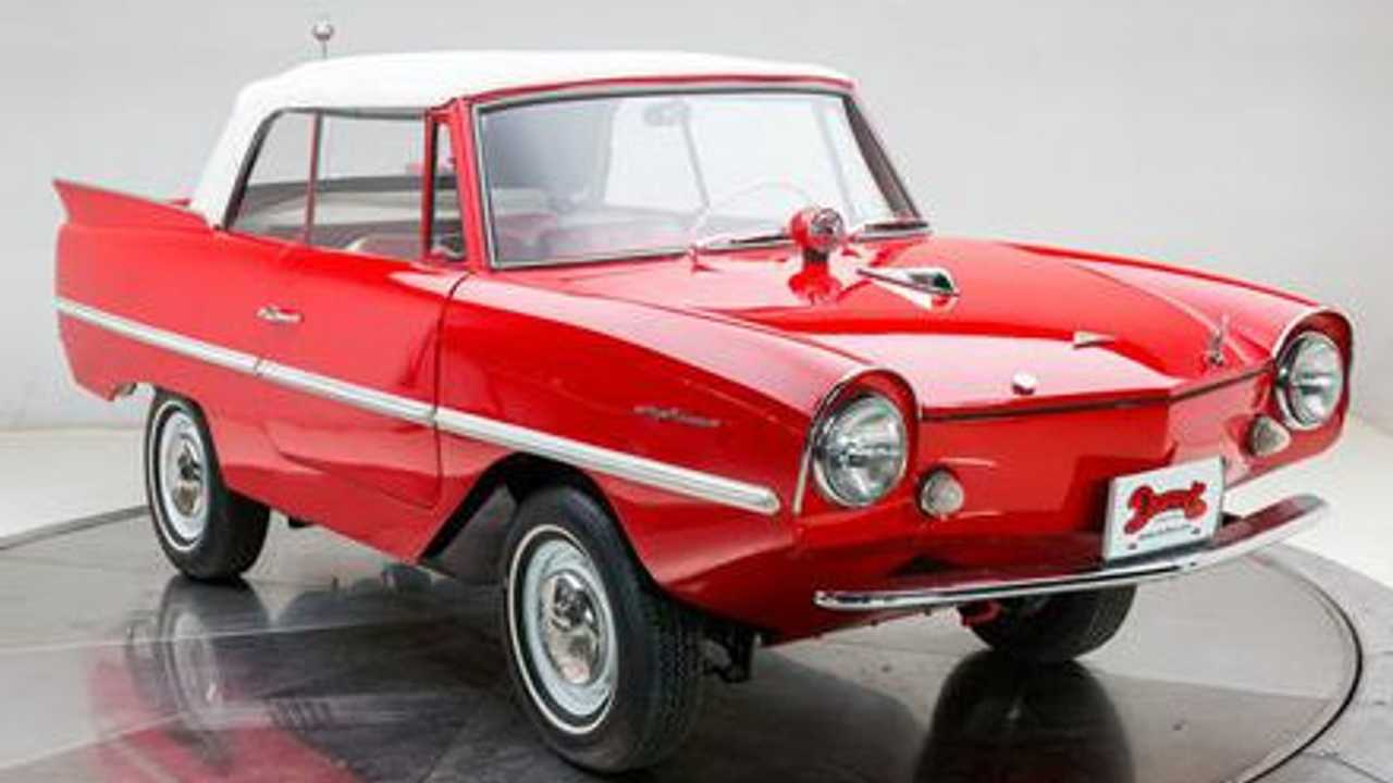 Cruise Open Waters In A 1962 Amphicar 770