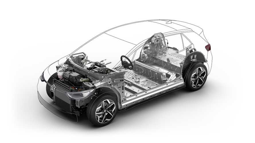 Volkswagen'in elektrikli modeli ID.3 böyle üretiliyor