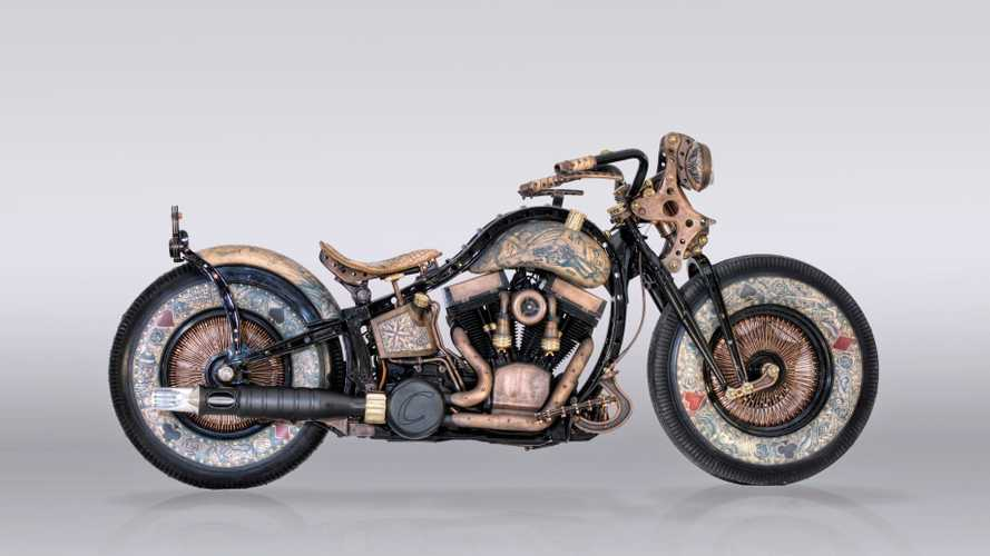 This Harley Isn't Painted, It's Tattooed