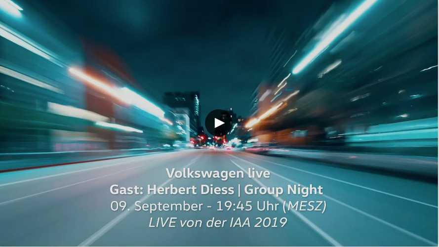 VW Group Night: Die Enthüllung des Elektroautos ID.3 als Video
