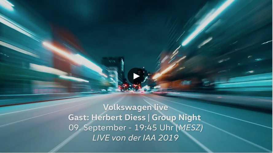 VW Group Night: Die Enthüllung des Elektroautos ID.3 als Video
