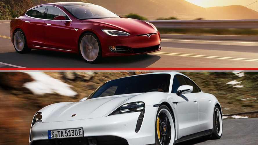 Porsche-Tesla, il duello ha inizio