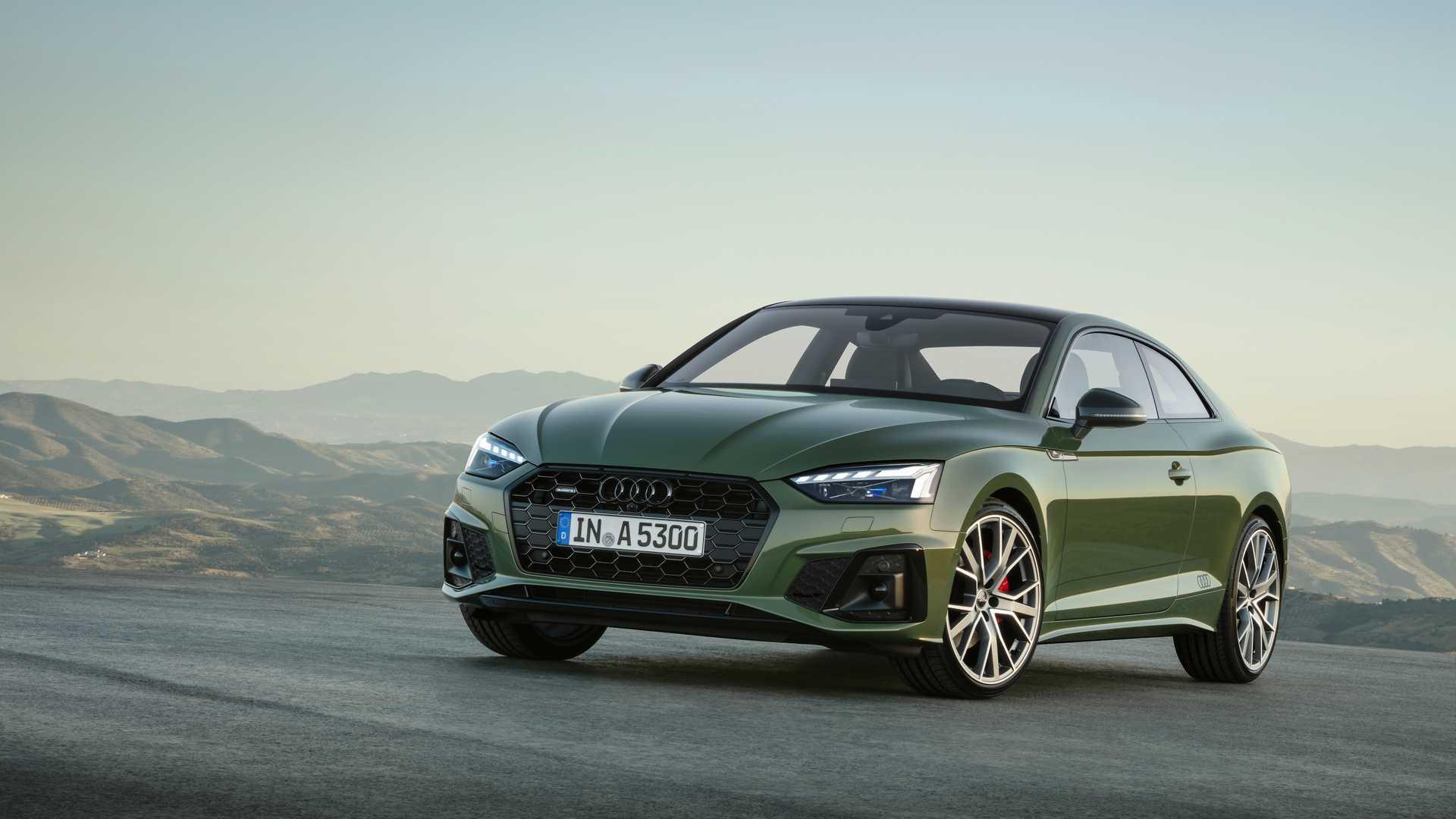 2020 Audi A5 Debuts Subtle Facelift, S5 Gets Diesel In Europe