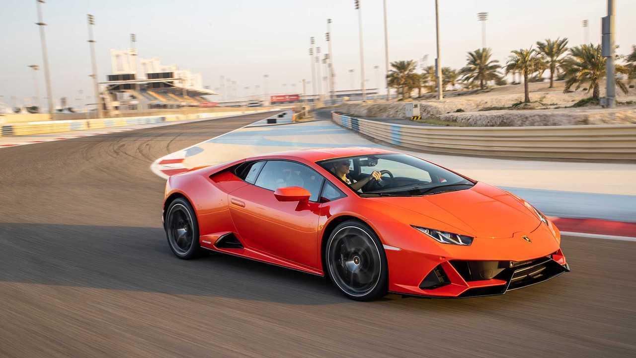 10. Lamborghini Huracan Evo