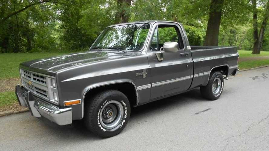 Hip To Be Square: 1985 Chevrolet C10 Selling At No Reserve