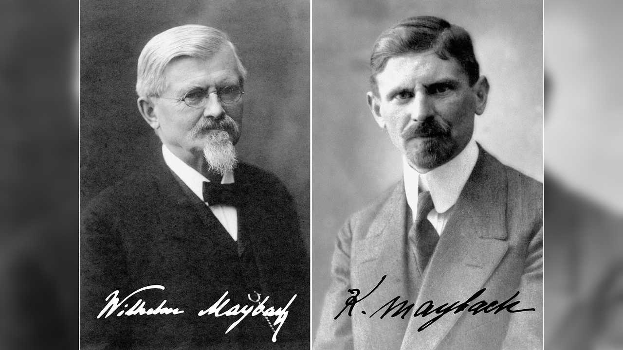 Wilhelm und Karl Maybach