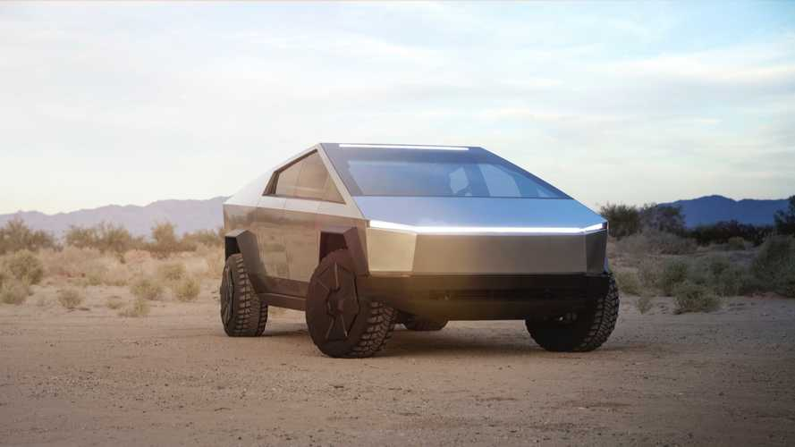 Tesla Cybertruck Official Image
