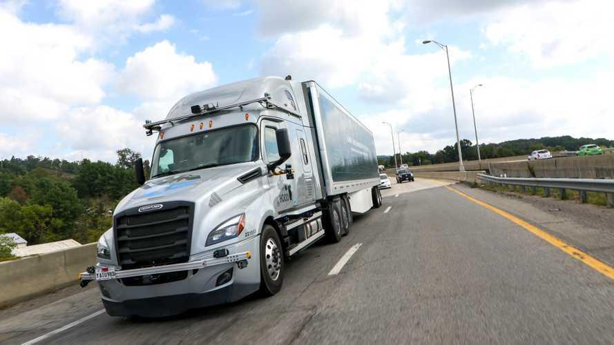 Guida autonoma, perché la logistica ci arriva prima