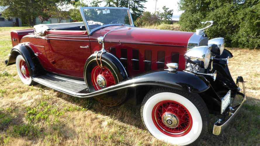 Own This 1932 Cadillac 355B Convertible