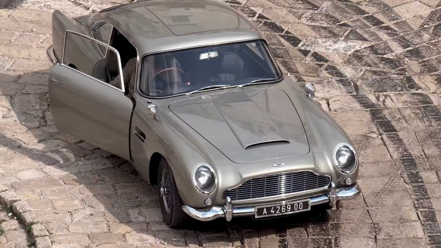 Bond 25 - Une course poursuite d'anthologie en Aston Martin DB5 !