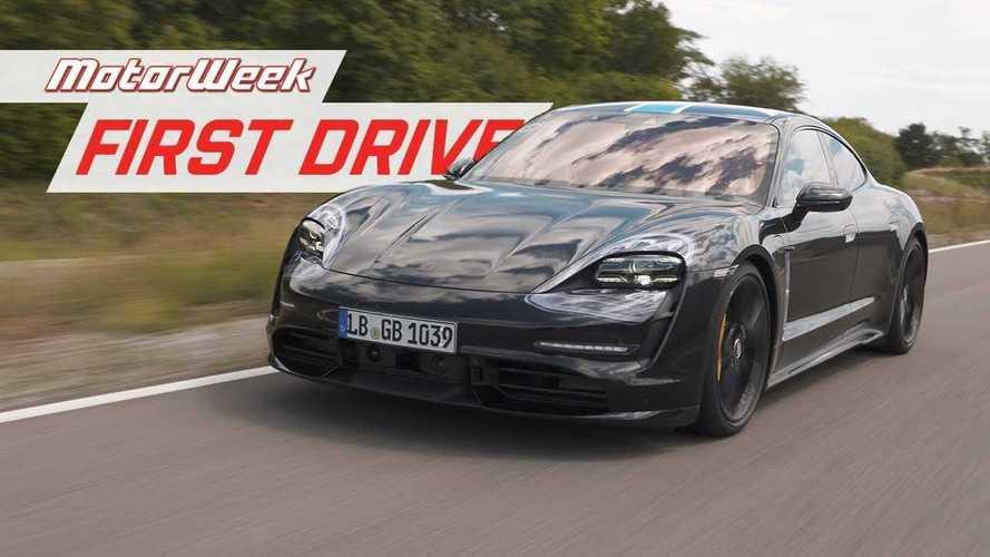 MotorWeek Drives Porsche Taycan Prototype In Stuttgart: Video