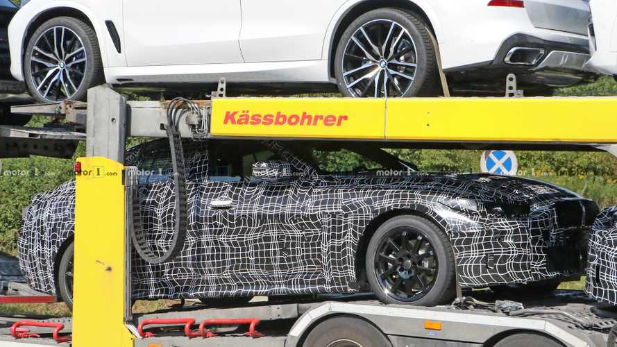 BMW 4 Series Gran Coupe new spy photos