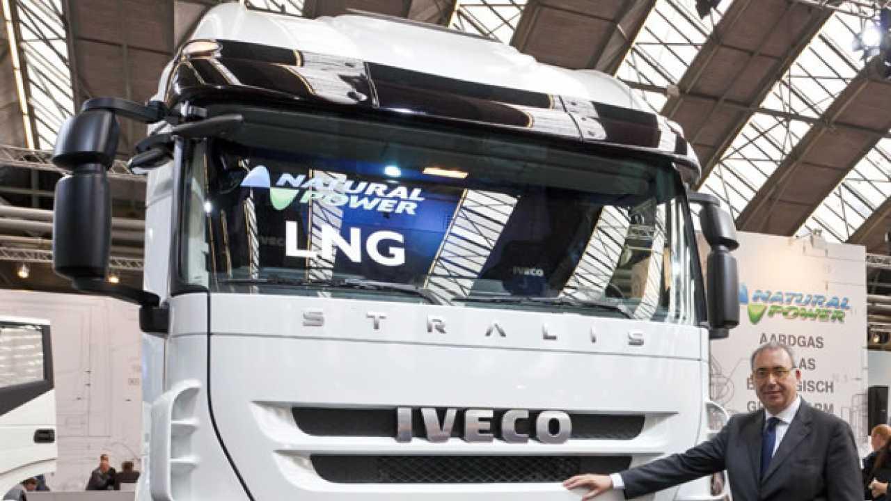 Nuovo Iveco Stralis LNG