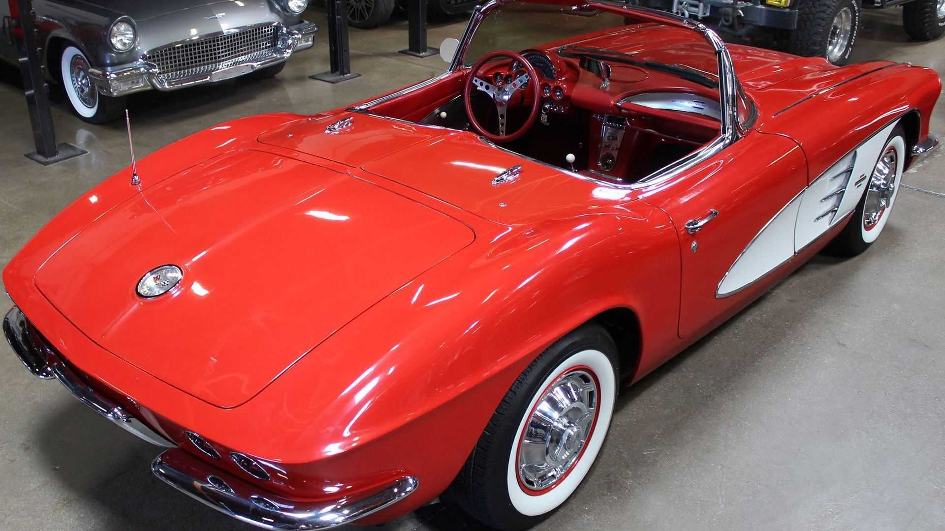 """[""""Invest In A 1961 Chevy Corvette""""]"""