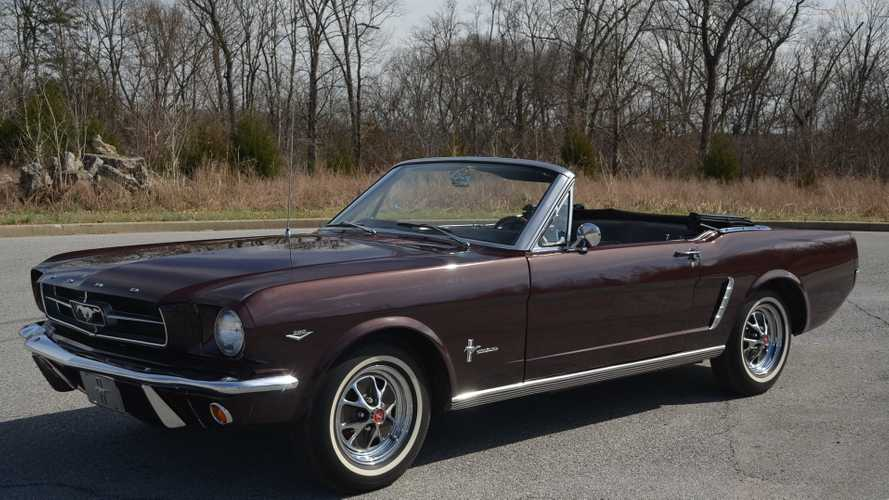 Clear Garage Space For This Pristine 1965 Ford Mustang 'Vert