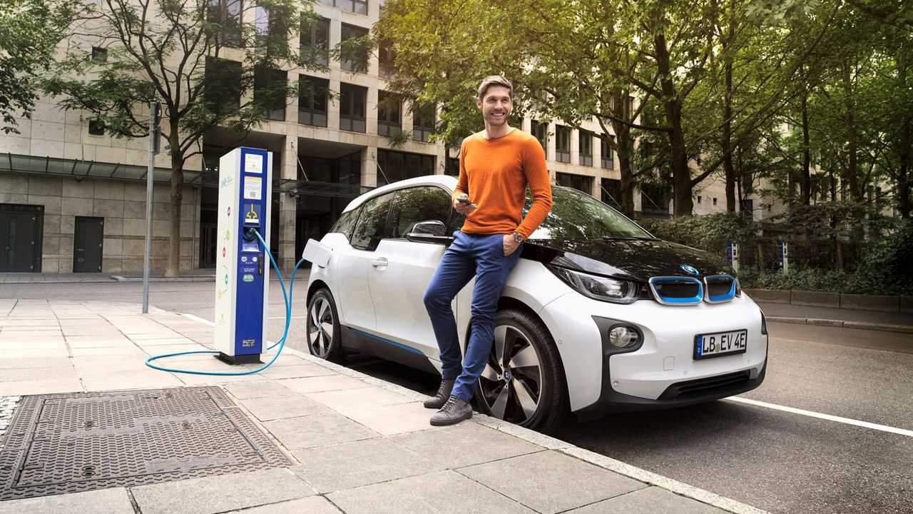 EnBW charging point