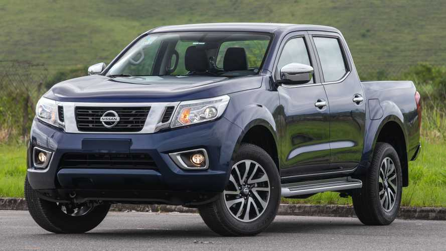 Nissan Frontier 2020 ganha