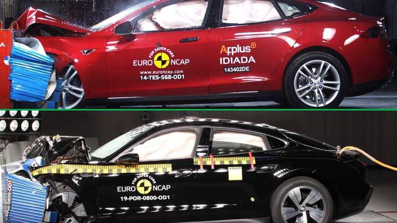 Porsche vs Tesla Sicurezza COVER