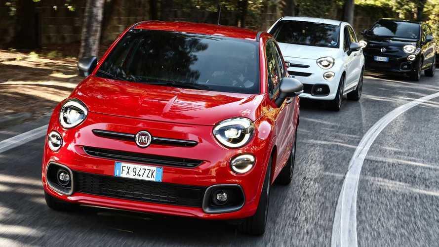 Fiat 500X Sport starts from £22,500 OTR