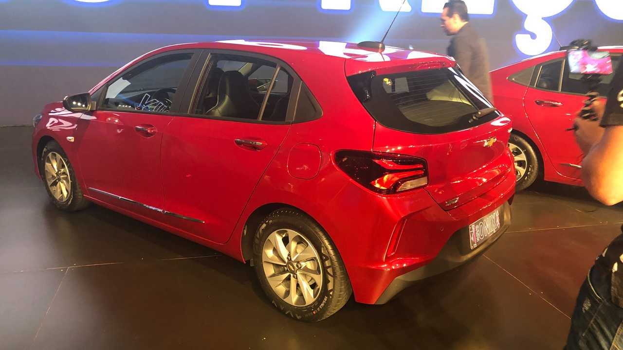 Traseira novo Chevrolet Onix