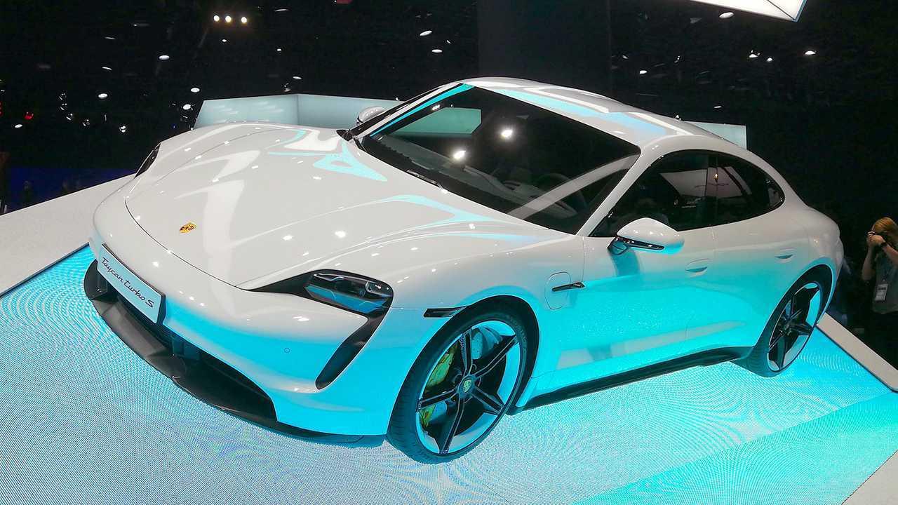 IAA 2019 - Elektroautos: Porsche Taycan