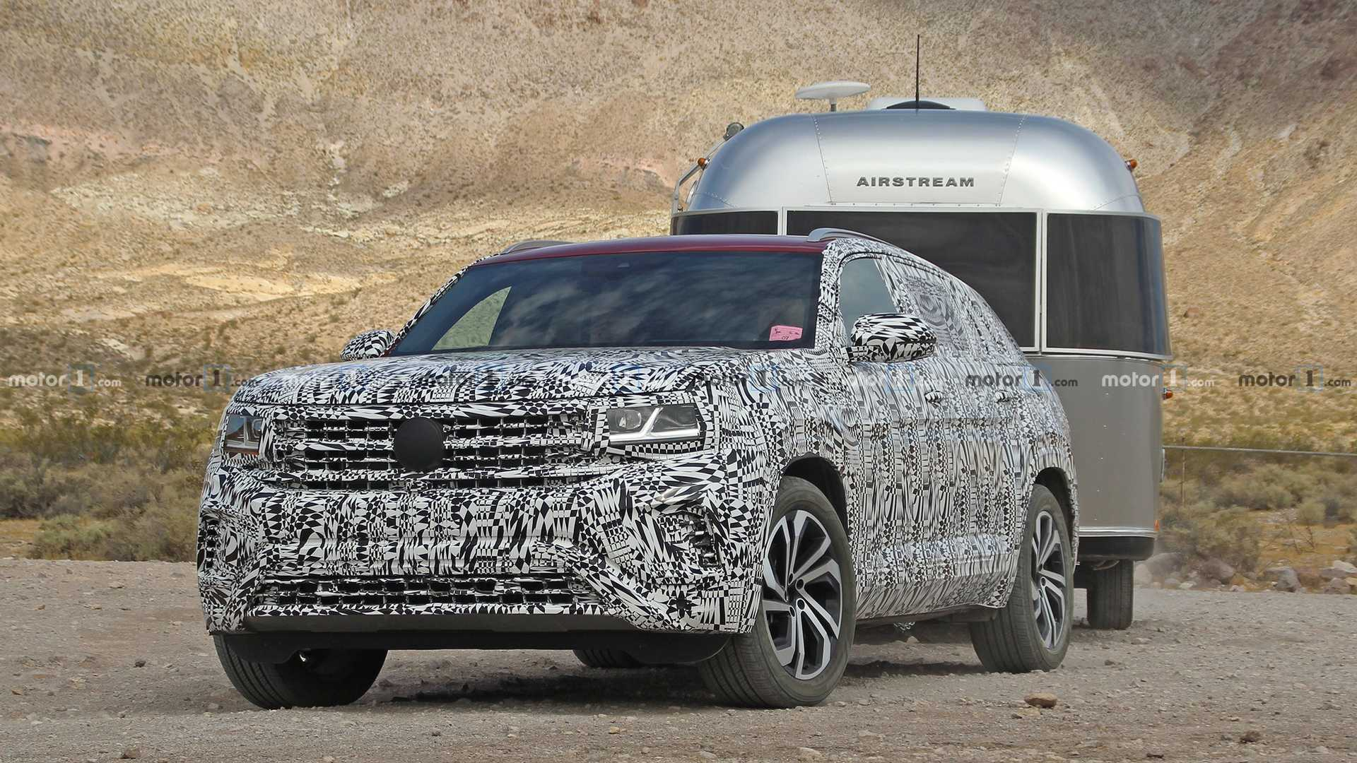 2020 Vw Atlas Cross Sport Spied Inside Looking Quite Familiar
