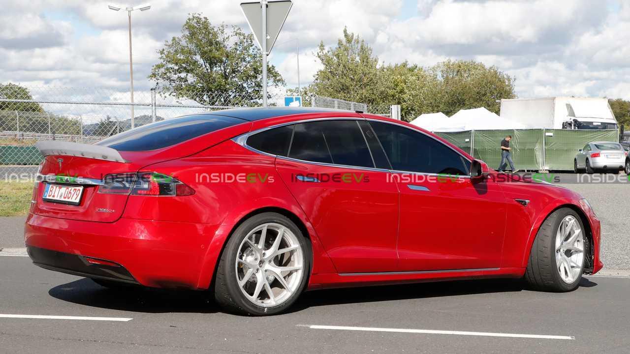 Tesla Model S P100D+ Plaid