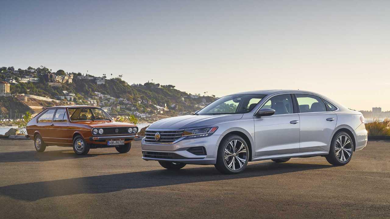Evolution of the Volkswagen Passat