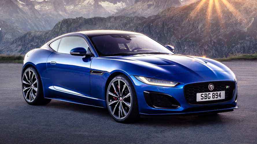 2021 Jaguar F-Type revealed with smoother shape, new V8 option