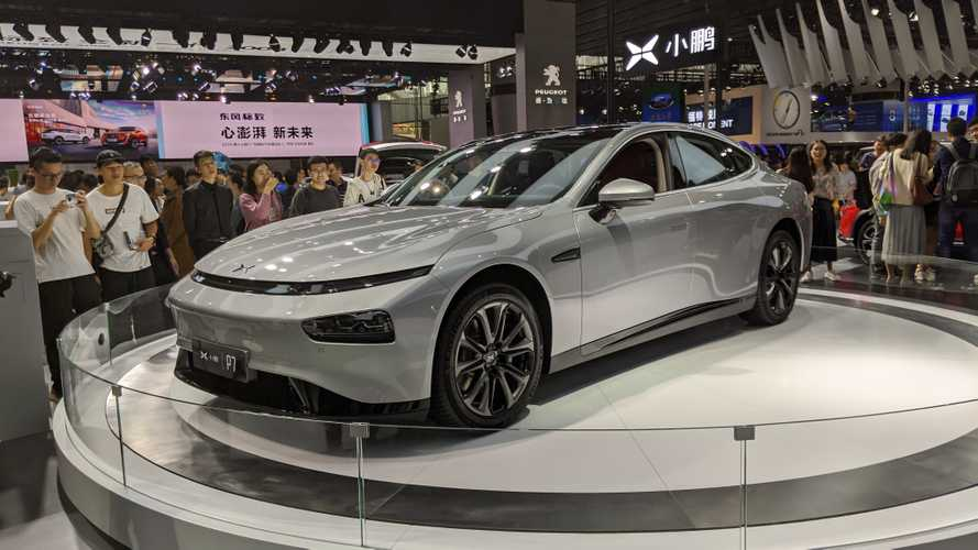 Xpeng P7 Electric Sedan Shines At Guangzhou Motor Show