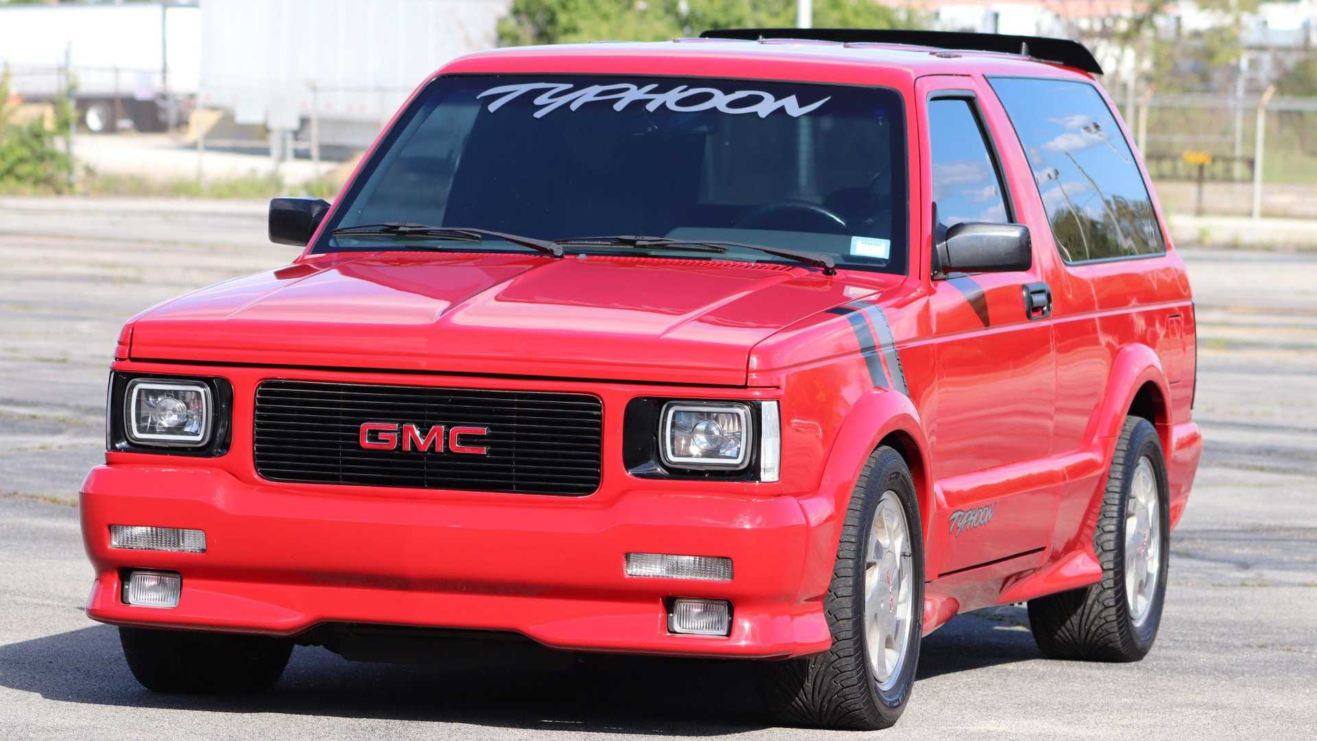 """[""""Get Your Hands On This Red-Hot 1992 GMC Typhoon""""]"""