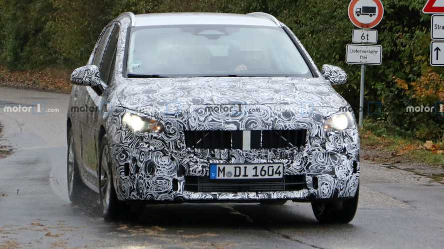 BMW 2 Series Active Tourer, le foto spia